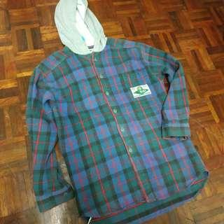 Quiksilver Flannel Hooded