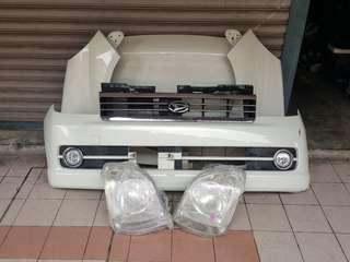 Bodypart depan AVY RS 07 sesuai utk VIVA