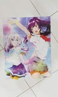Irozuku Sekai no Ashita kara / iroduku : the world in colours anime poster