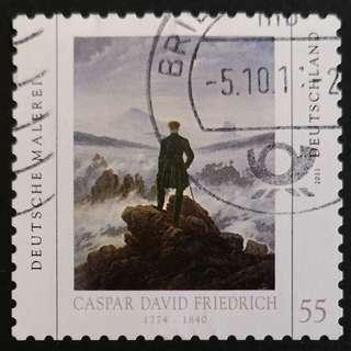 Germany 2011. Art - Painting by Caspar David Friedrich, 1774-1840 complete set of 1 stamp