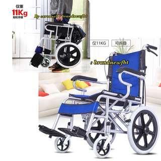 Wheelchair foldable elderly