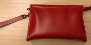 Aster Spring cosmetic zip pouch