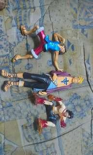 One piece statue figure ( Marco, luffy, ace) #MY1212