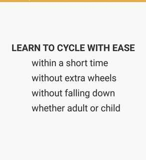 Learn Cycling The Easy Way