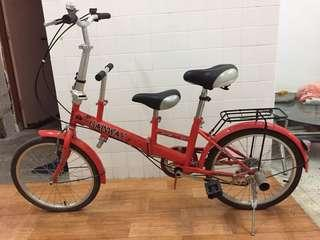 Folding Bicycle 3 seater