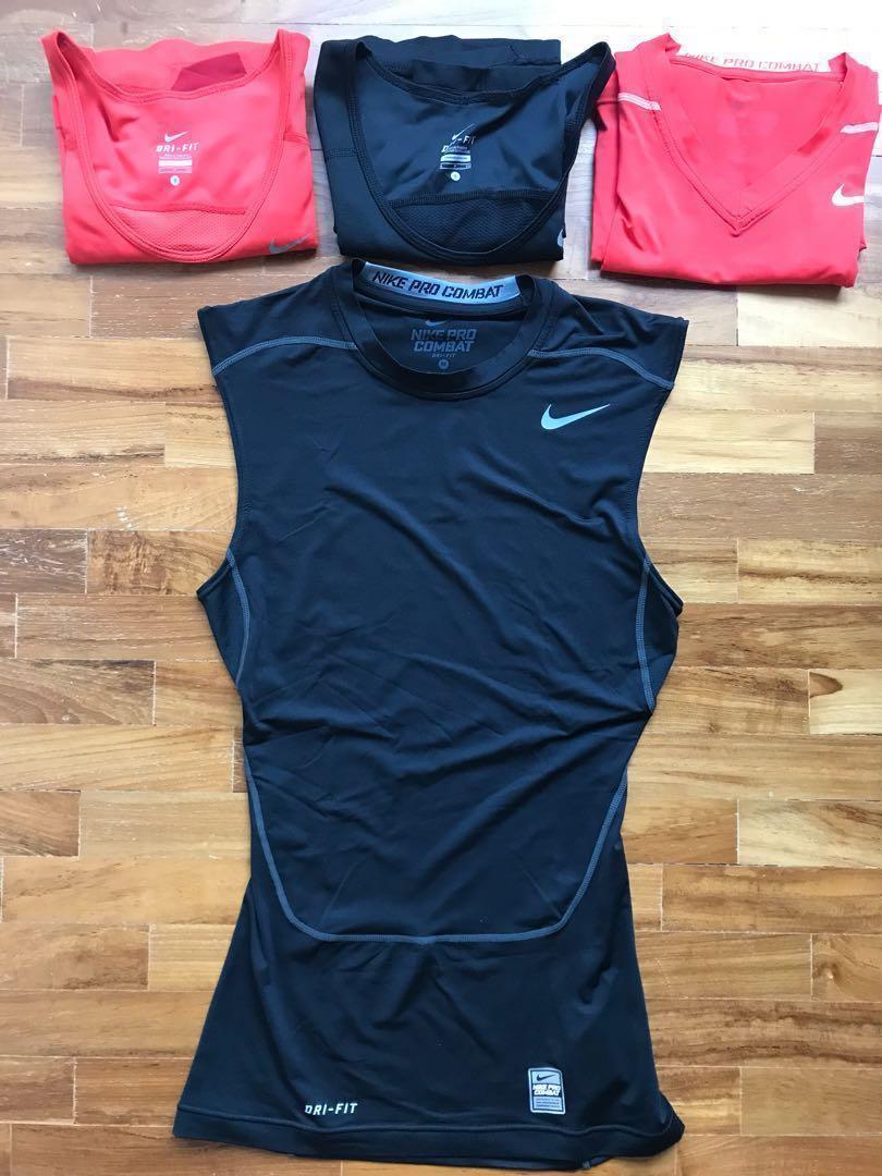 4e3151725d955a 4 Nike Pro Combat and Dri-Fit Sleeveless Tops