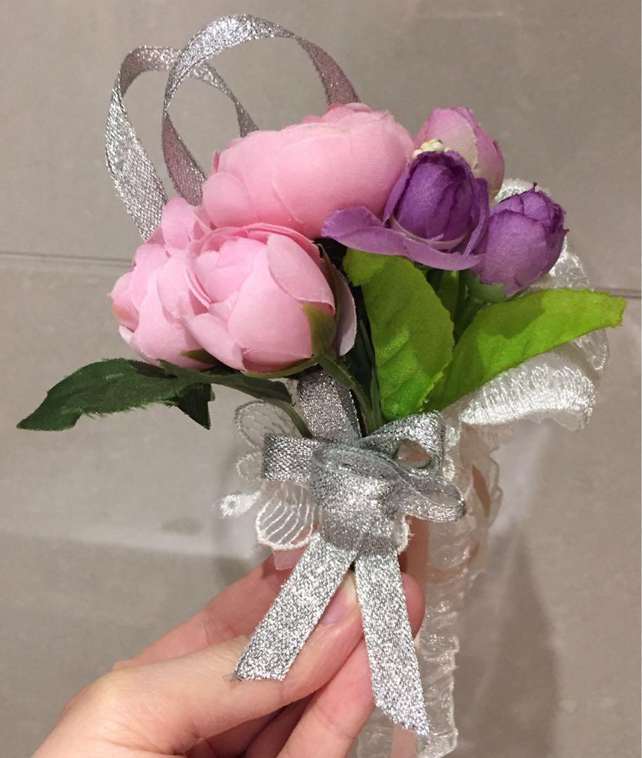 結婚物資-襟花、手花