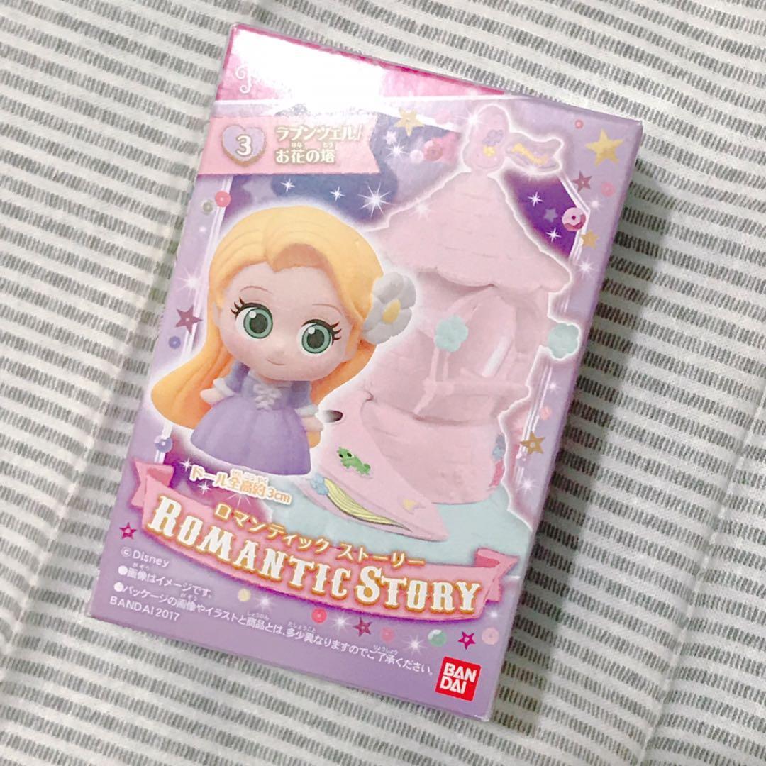 日本🇯🇵長髮公主 Rapunzel has 城堡🏰Q版公仔figure