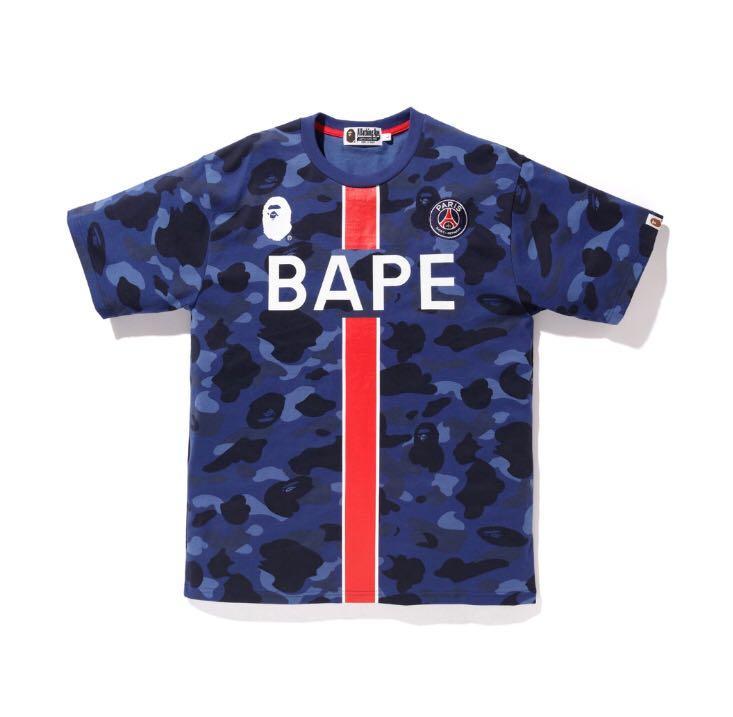 huge discount 61606 0823a A Bathing Ape x Paris Saint-Germain Bape X PSG, Men's ...