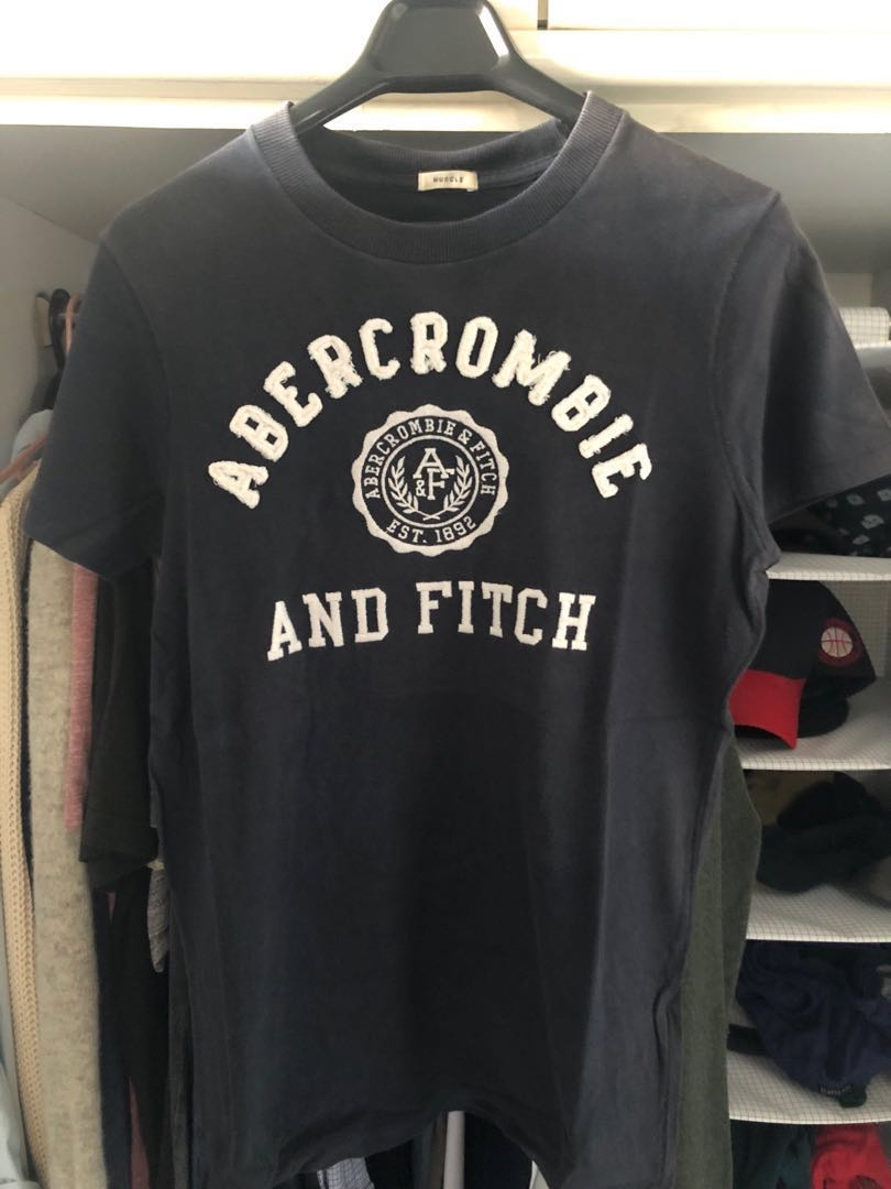 f714dcb3 Abercrombie & Fitch Vintage Muscle Fit T-Shirts in Size S, Men's ...