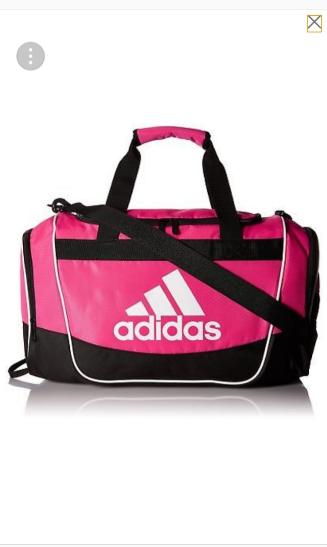 1f5aa650724b Adidas Duffle Bag (Pink) authentic