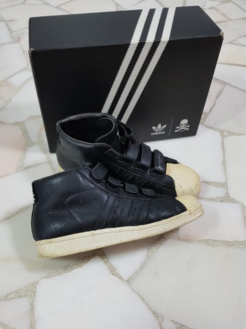 meilleures baskets e47bc 546b6 Adidas Originals Promodel x Mastermind Japan