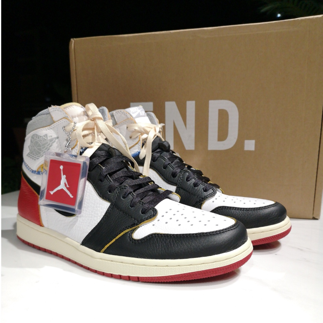 9439a3e9fdf Air Jordan 1 x Union LA Black Toe
