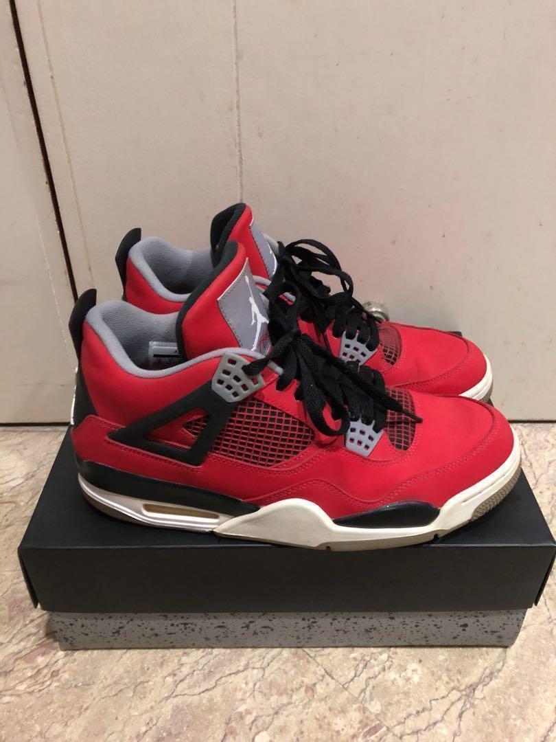 watch a91d5 80b39 Air Jordan 4 retro toro bravo, Men's Fashion, Footwear ...