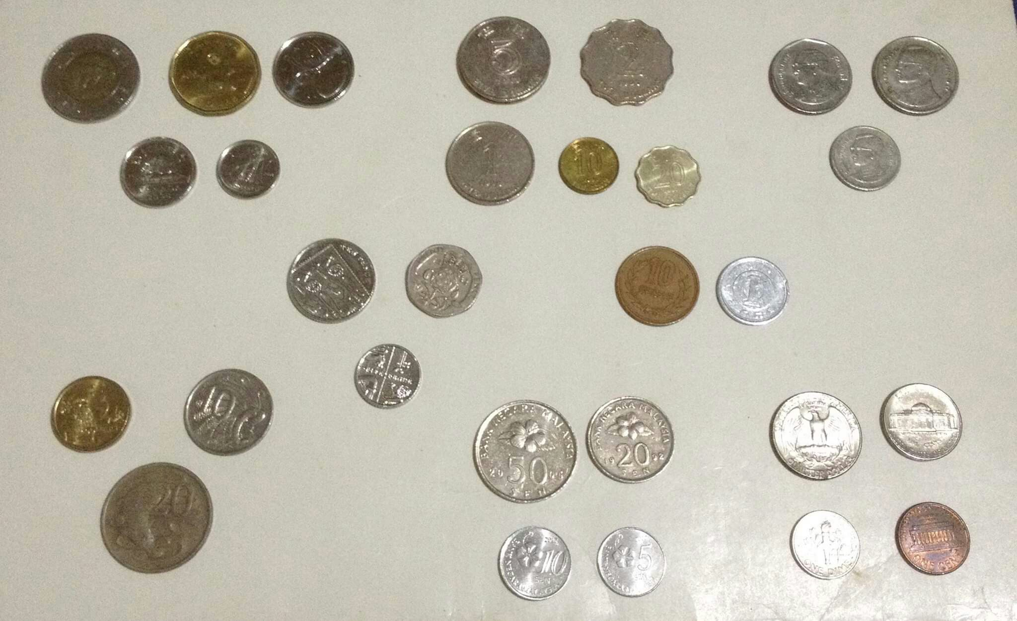 Foreign Currency Coins Usa Uk