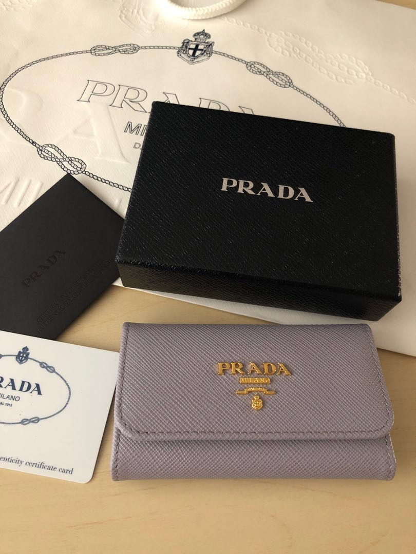 bd5a4d33f049b1 Authentic Prada Key Holder, Luxury, Bags & Wallets, Others on Carousell