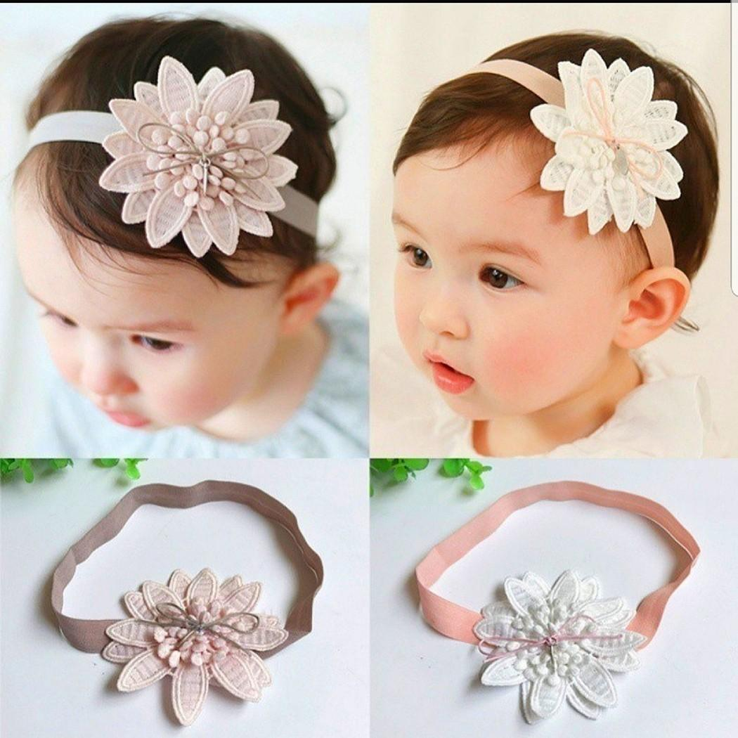 BNWT 2 Pack of Baby Headbands Age 0-24 Months Hair Accessory Girls Pink