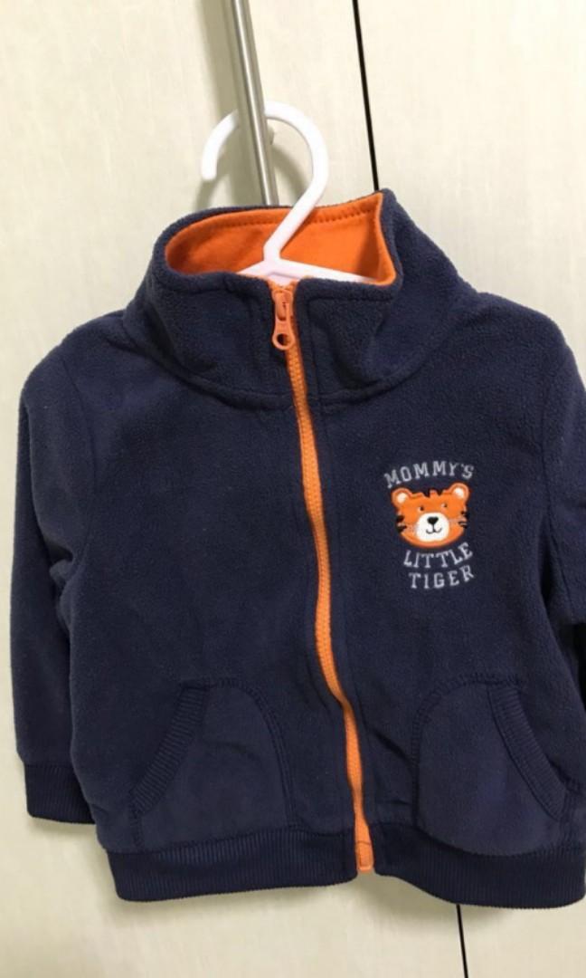 69328122e Baby fleece jacket 12 18months, Babies & Kids, Boys' Apparel, 1 to 3 ...