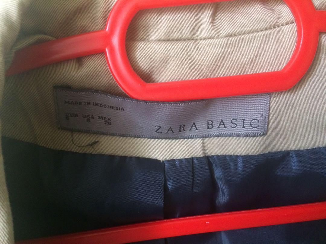 Blazer/Coat for Women: Zara Basic