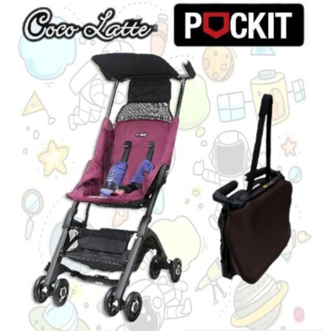 BNIB - Cocolatte Pockit Stroller - CL839 - Recline - FREE LOCAL DELIVERY - FREE BACKPACK - FREE LEGO Luggage Tags
