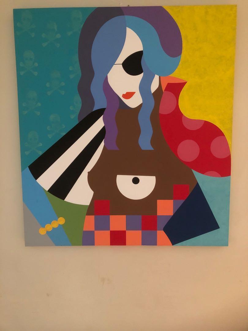 """""""Bonnie"""" CanvasArt"""