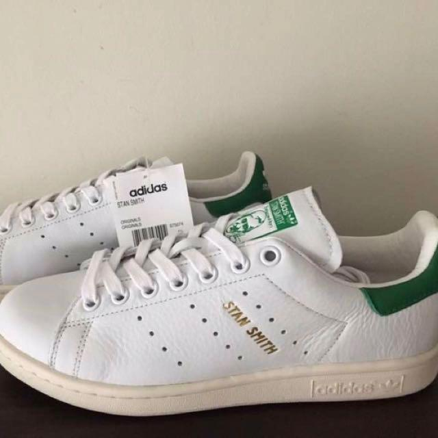 brand new 2f1f4 a0475 BRAND NEW & AUTHENTIC ADIDAS Stan Smith OG Green Tab Gold ...