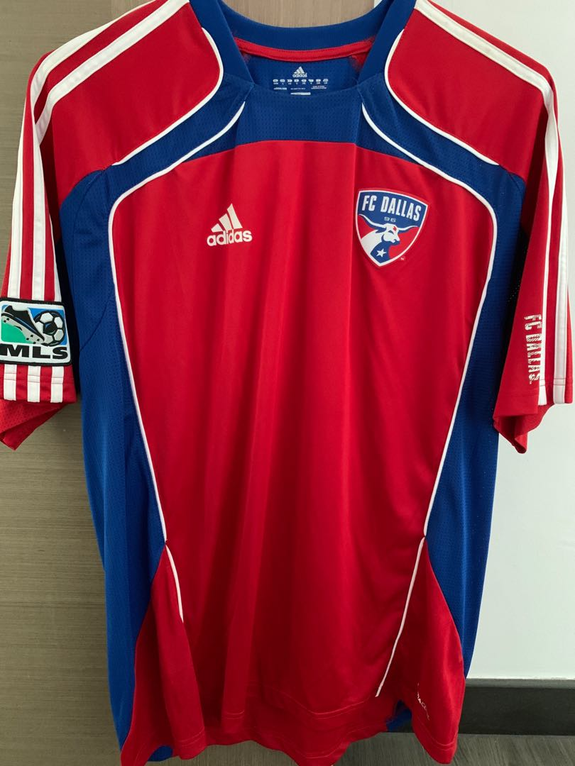 the latest 87f06 6309f BRAND NEW FC DALLAS ADIDAS SOCCER JERSEY SIZE L