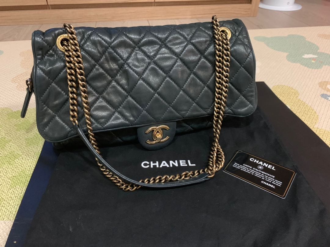 82d01ace1c1d Chanel Easy Flap Jumbo Size