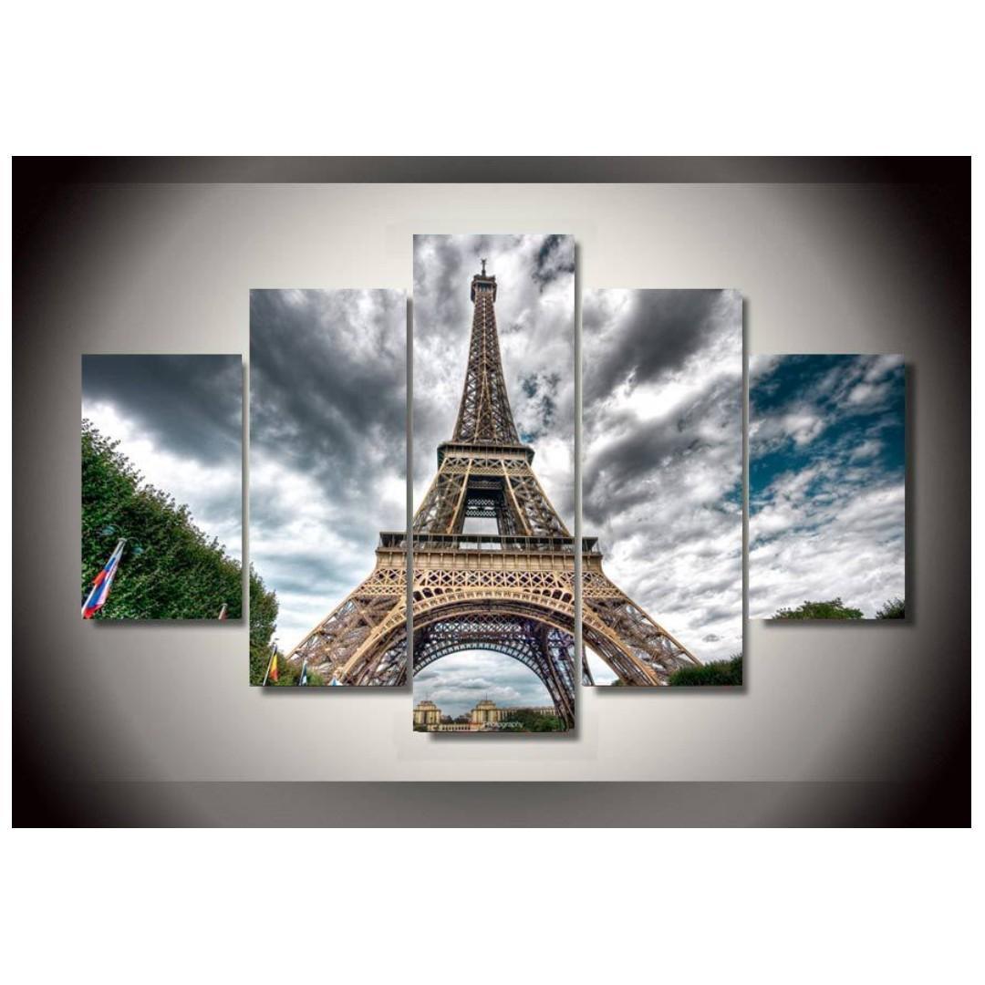 Framed Print Paris Eiffel Tower