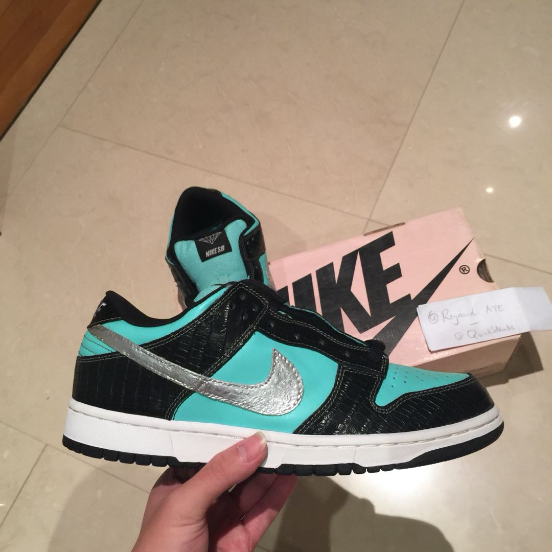 "a97b5b70f9c9 GRAILS🔥 US 10 BNIB Nike SB Dunk Low "" Tiffany """