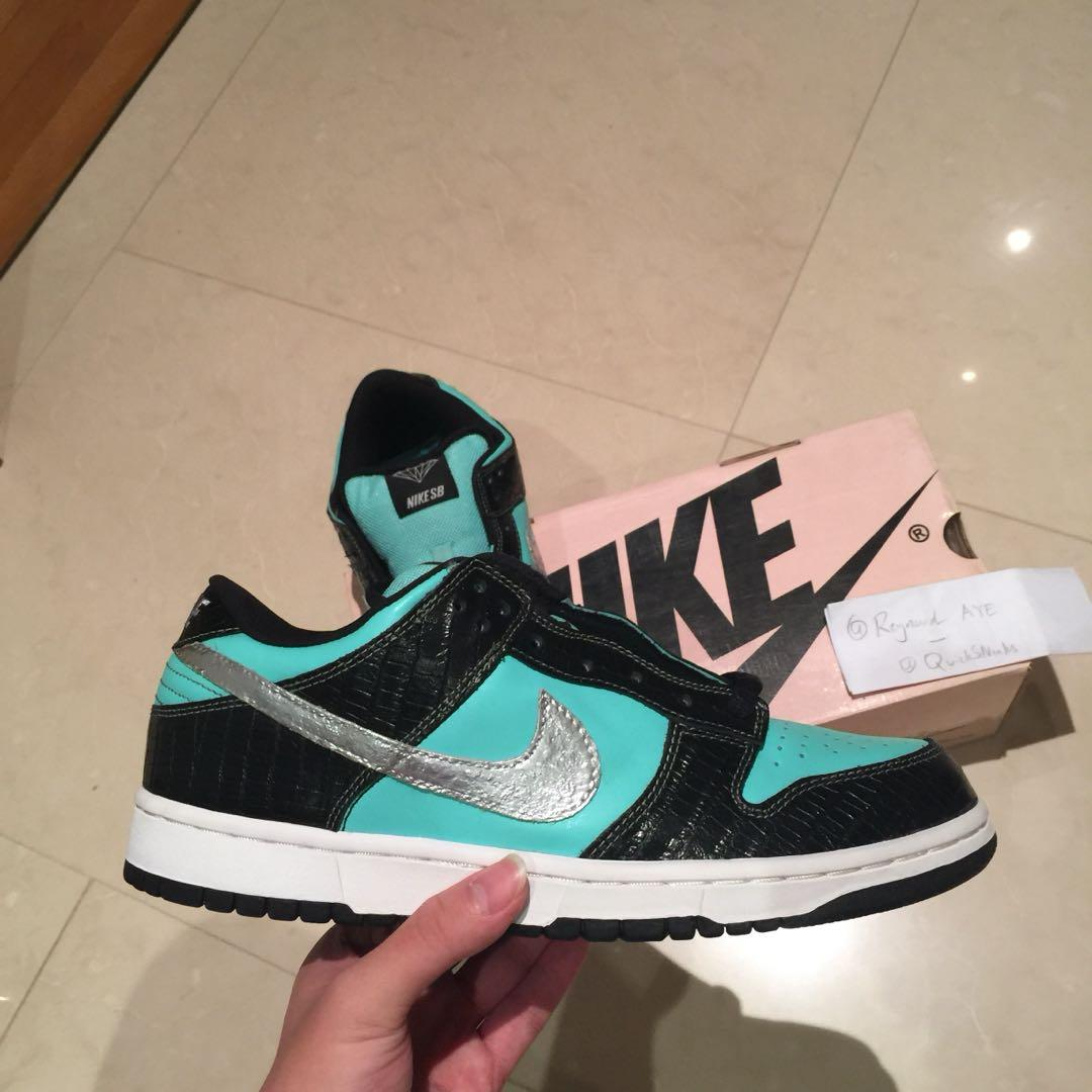 "buy popular b7072 30eda GRAILS🔥 US 10 BNIB Nike SB Dunk Low "" Tiffany "", Men's ..."