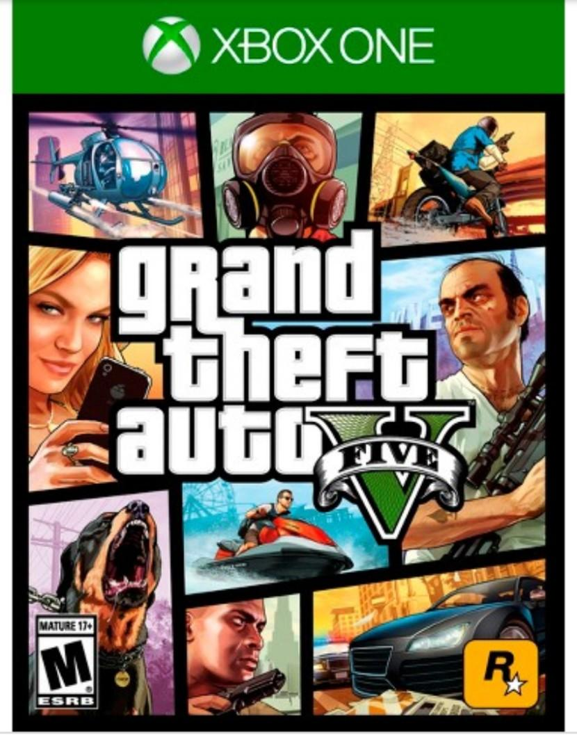 GTA V Grand Theft Auto Five 5 Preowned Xbox One Game