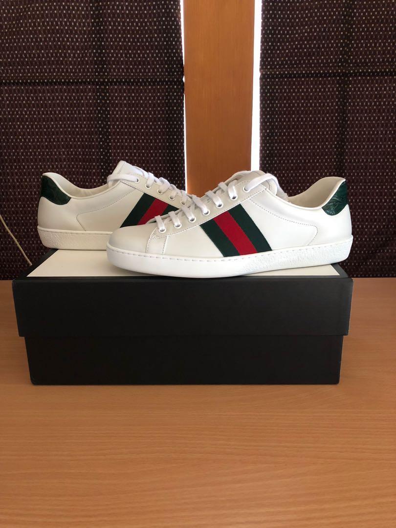 244bdff9d70 Gucci Ace Low Sneakers Plain