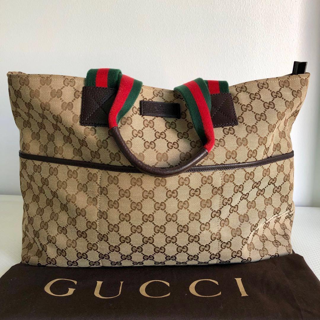 cef8f6f5 Gucci Monogram Women Tote Bag, Women's Fashion, Bags ...