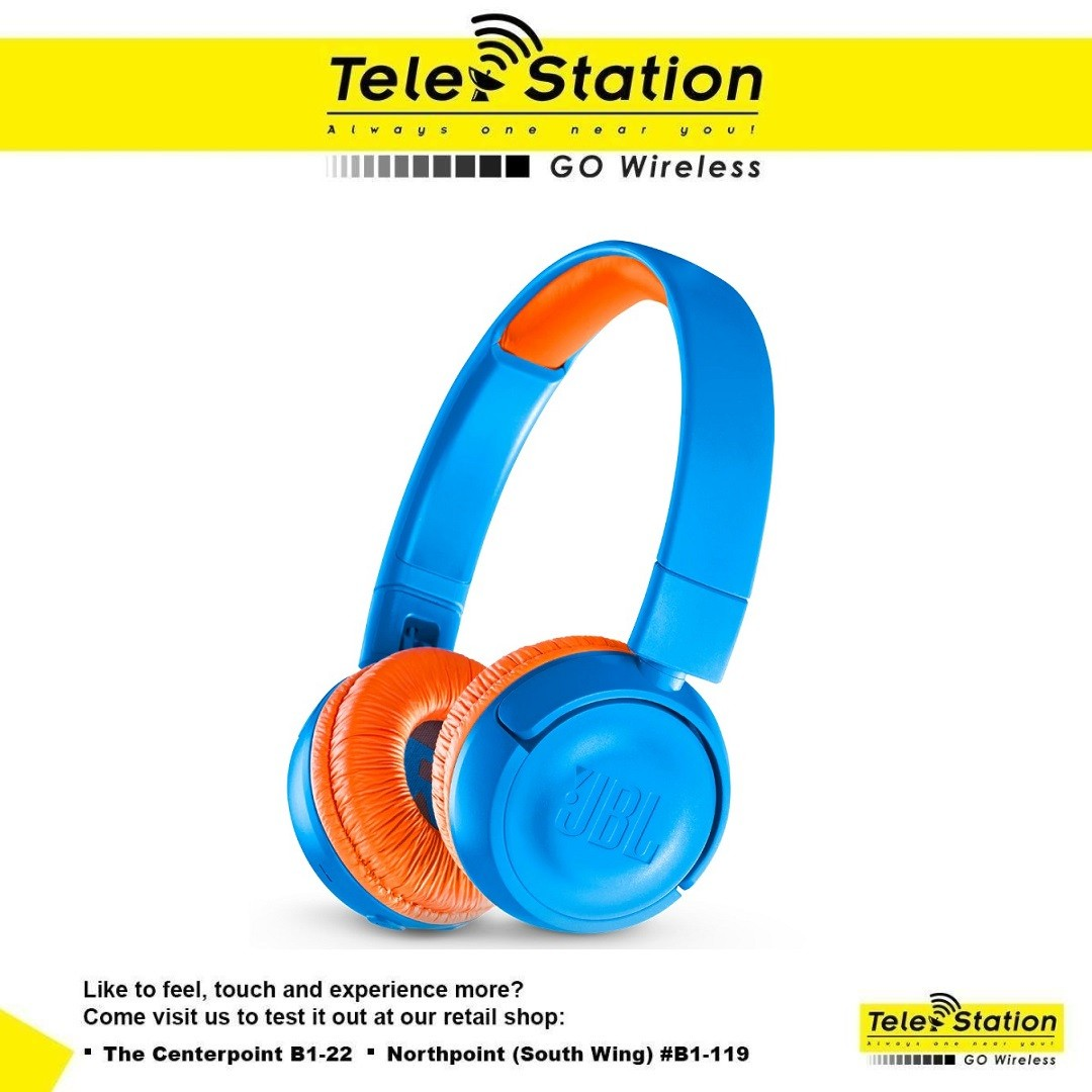 e2700c66ef0 JBL Junior JR300 Bluetooth Kids Size On-Ear, Electronics, Audio on ...