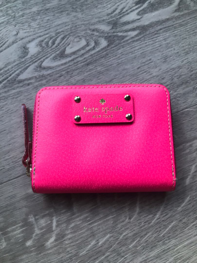 hot sales d857a 2cd4c Kate Spade Pink Coin Pursr
