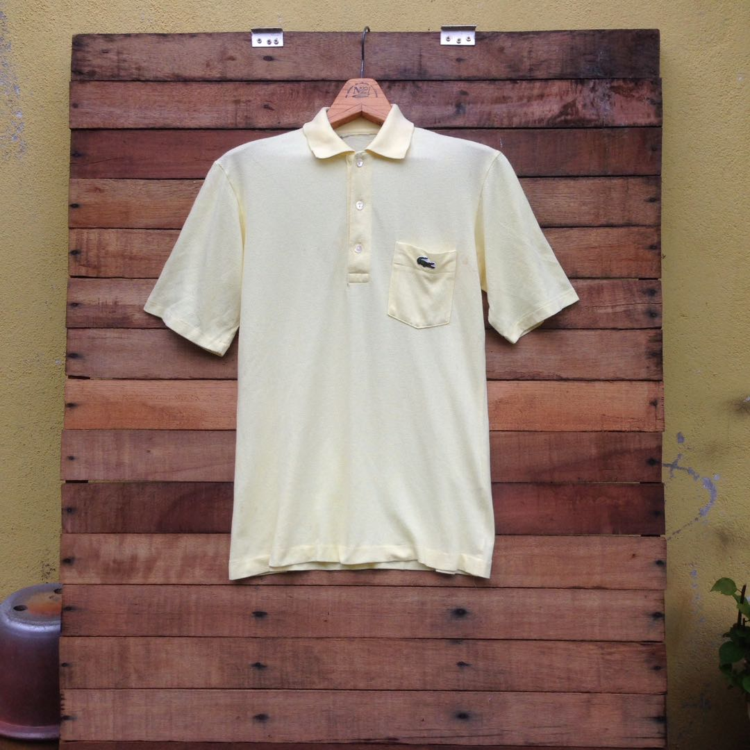 17b57cb94435 Lacoste Single Pocket, Men's Fashion, Clothes, Tops on Carousell