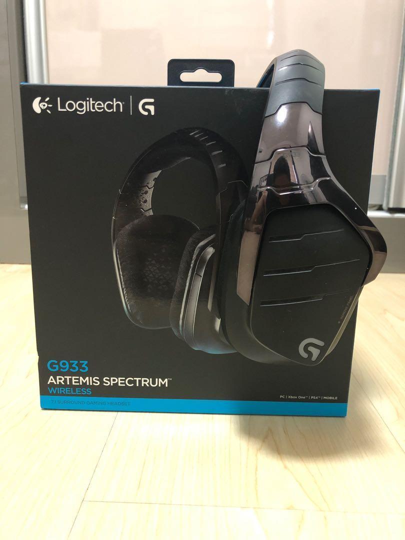 Logitech G933 ARTEMIS SPECTRUM, Toys & Games, Video Gaming