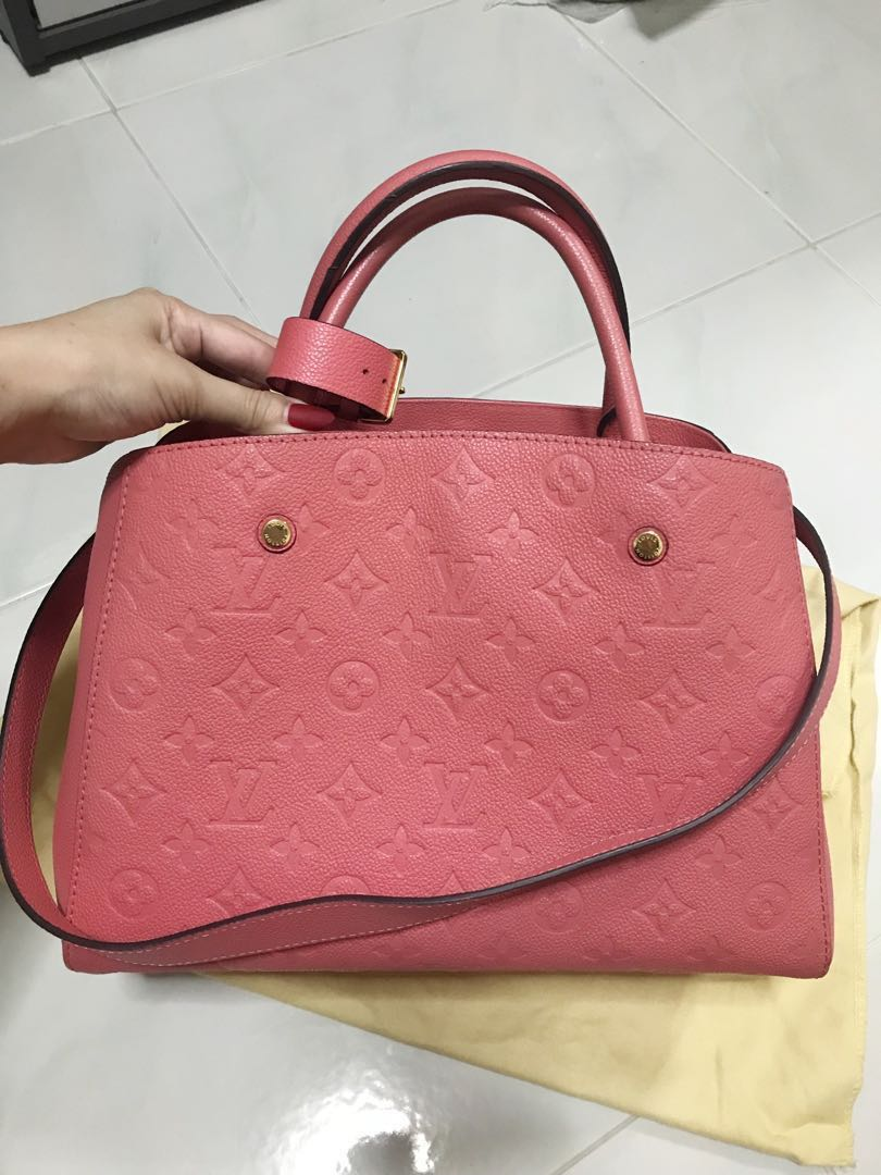 2516446576d3 Louis Vuitton empreinte montaigne mm poppy