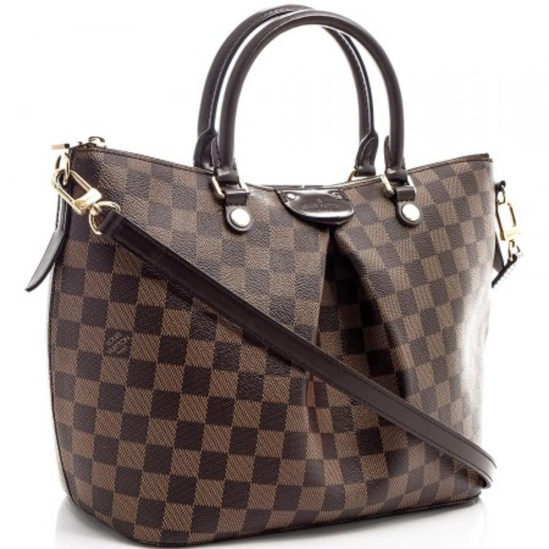 90a006a6f8b3 LOUIS VUITTON Siena MM N41546 2WAY handbag Damier