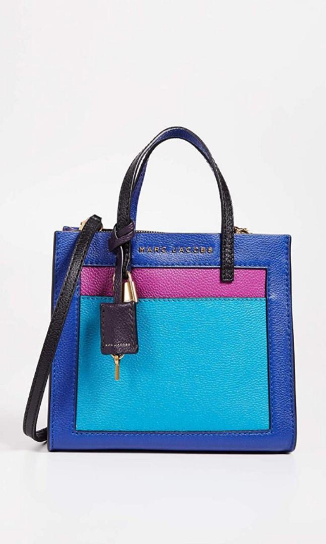 aeec30d2352 ♥ Marc Jacobs Colorblock Mini Grind Leather Satchel, Women's ...