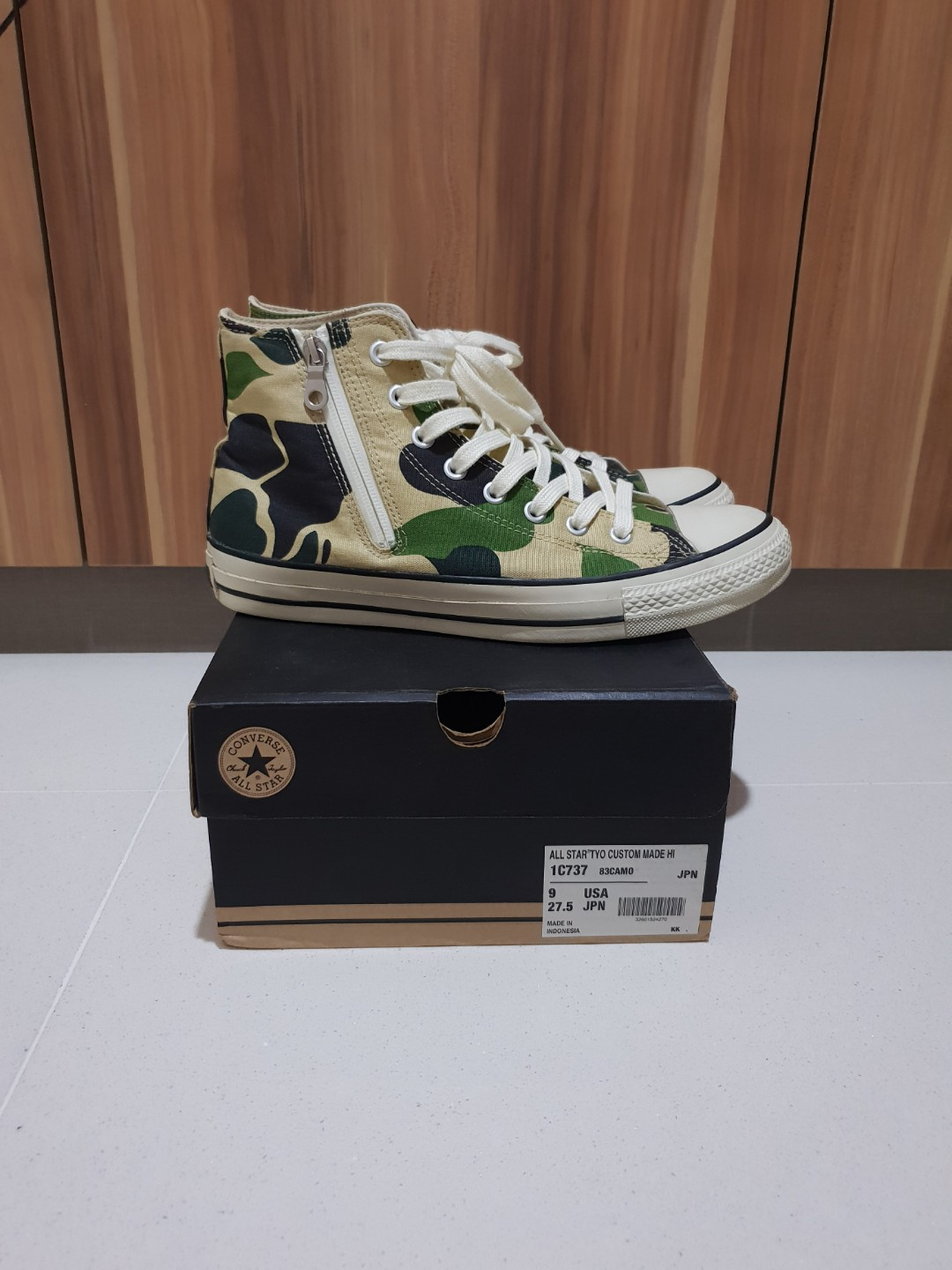 891e5abafca4de mita sneakers x Converse All Star TYO Custom Made Hi