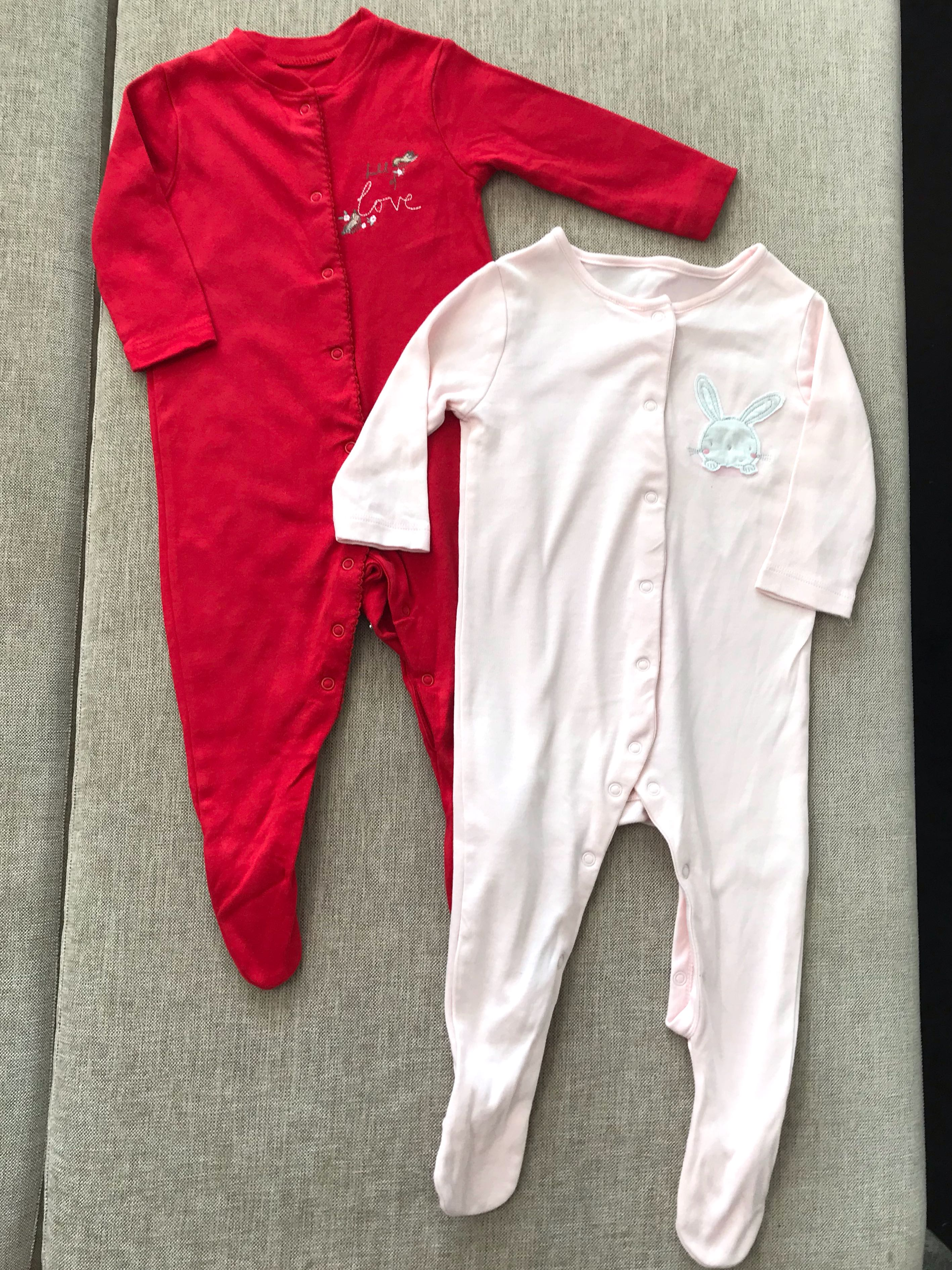 Baby & Toddler Clothing One-pieces Baby Girls Sleepsuits 6-9 Months
