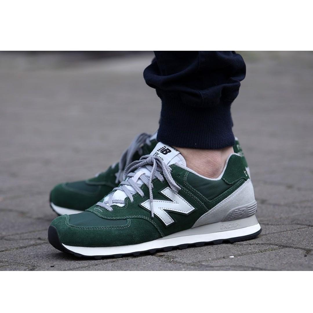 timeless design 27469 21298 New Balance 574 Green, Men's Fashion, Footwear, Sneakers on ...
