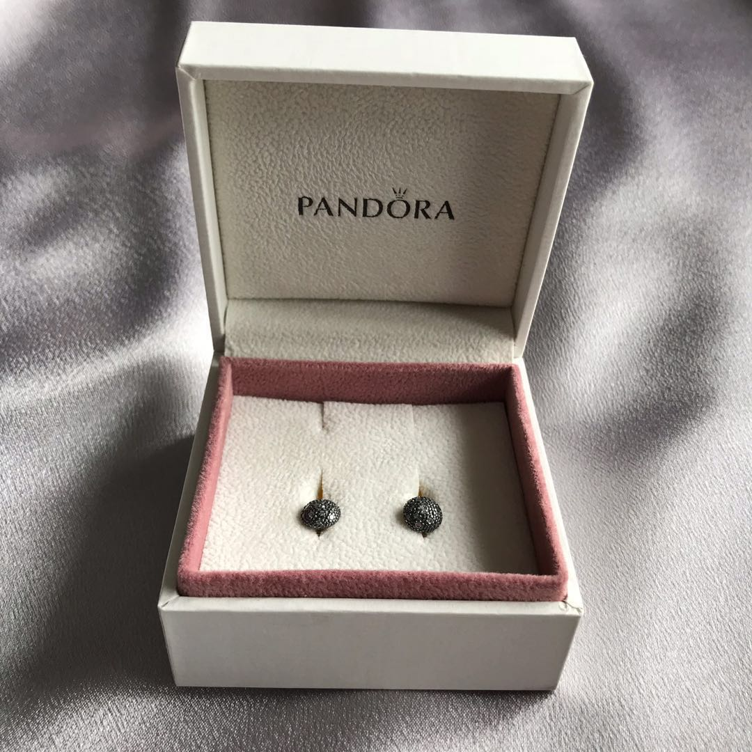 0bc4e38cd [New Unused] 💯% Authentic Pandora Cosmic Stars Cubic Zirconia Stud Earrings,  Luxury, Accessories, Others on Carousell