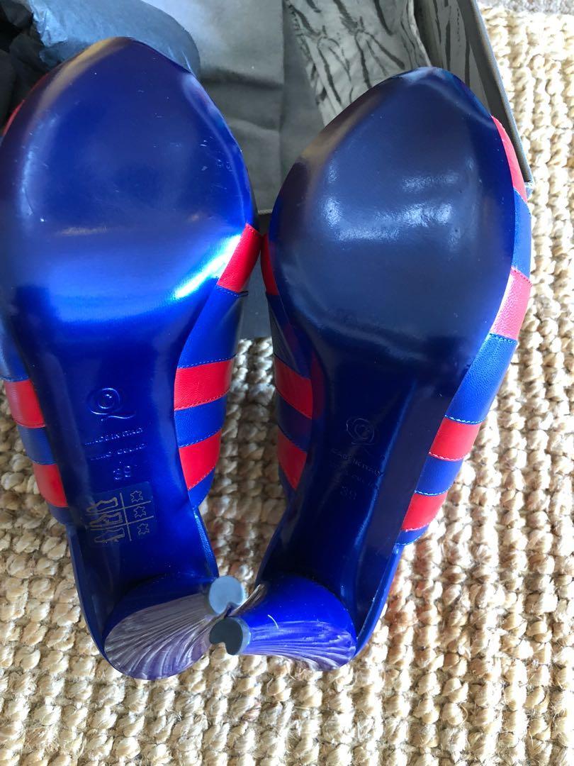 New with box Alexander McQueen heels, size 39 (8-8.5)