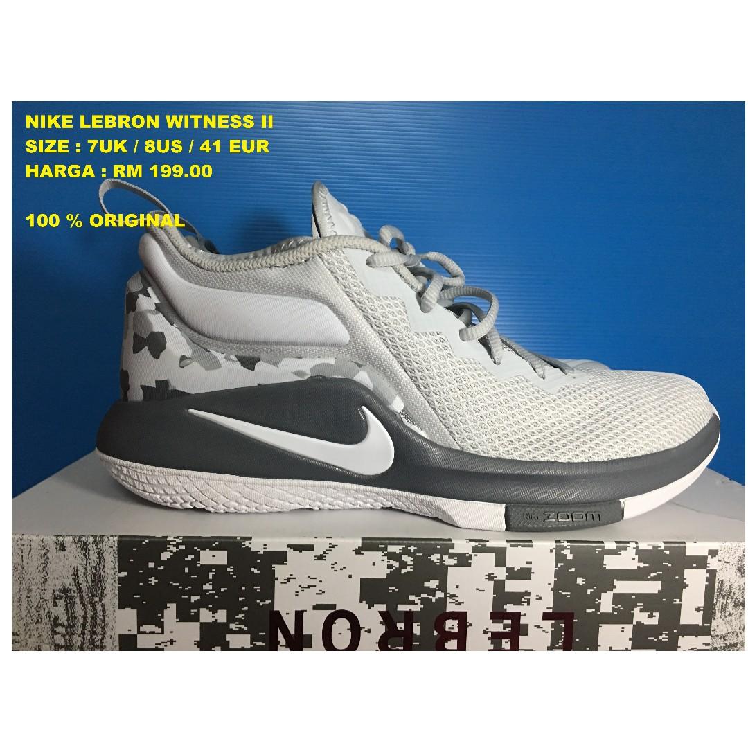 sale retailer 53440 087c7 NIKE LEBRON WITNESS II - NEW, Sports, Athletic   Sports Clothing on ...