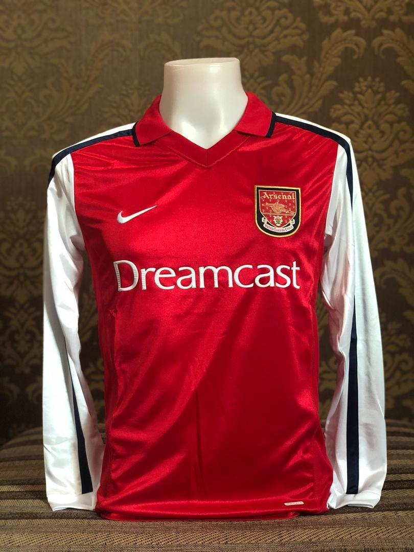 huge selection of 2814a 75acb PREORDER] 2000-01 Arsenal Dreamcast Kit Long Sleeve, Sports ...