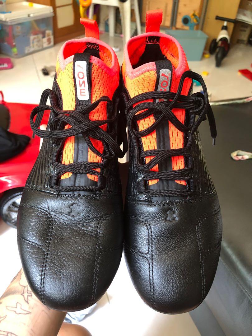 a45aad00eb00 Puma ONE 18.3 FG (Black & Orange), Men's Fashion, Footwear, Boots on ...