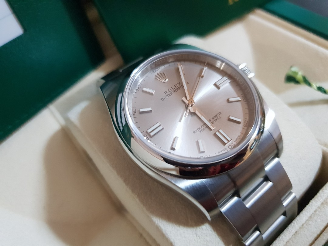 08ed964a53e Repriced  Rolex Oyster Perpetual 2018 Men s Watch